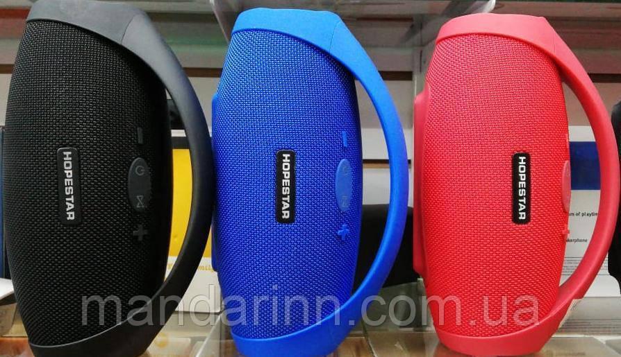 Портативная Bluetooth колонка Hopestar H32 красная