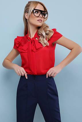 Женская блуза в романтичном стиле  размеры  S M L XL( 42,44,46,48), фото 2