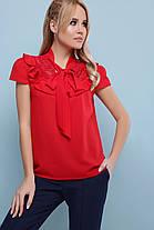Женская блуза в романтичном стиле  размеры  S M L XL( 42,44,46,48), фото 3