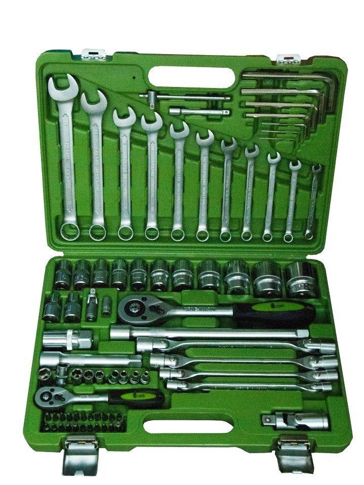 Набор инструмента alloid нг-4077п (77 предметов)