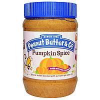 Peanut Butter & Co., Пряная тыква, арахисовое масло с пряной смесью для тыквенного пирога, 16 унций (454 г)
