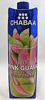 Сок Розовая гуава и виноград CHABAA 1000 мл, фото 1