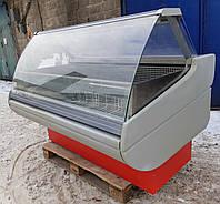 Низькотемпературна вітрина (морозильна) «Росс Belluno» 1.6 м. (Україна) від 0 до -18 градусів, Б/в, фото 1