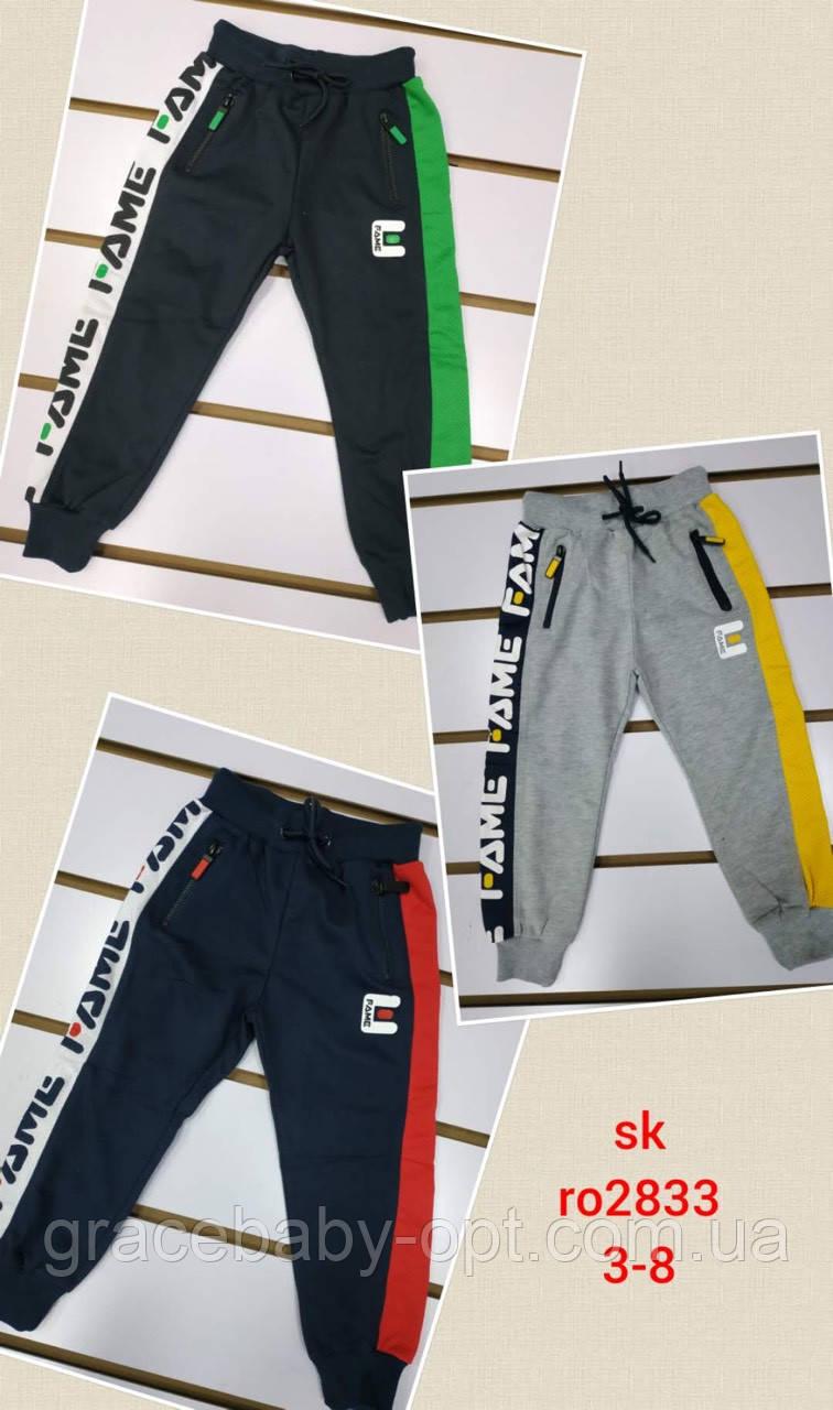 Спортивные штаны для мальчиков оптом, Setty Koop, 3-8 лет,  № RO2833