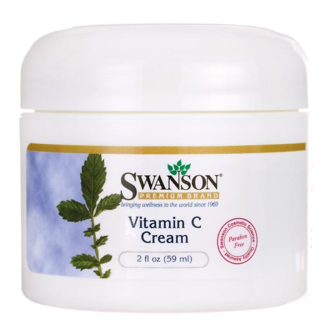 Крем с витамином С, Swanson, Vitamin C Cream, 59 мл