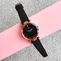 Женские черные наручные часы | Стильные