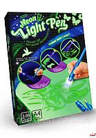 """Набор рисуй светом  """"Neon Light Pen"""" А4 для детей планшет для рисования"""
