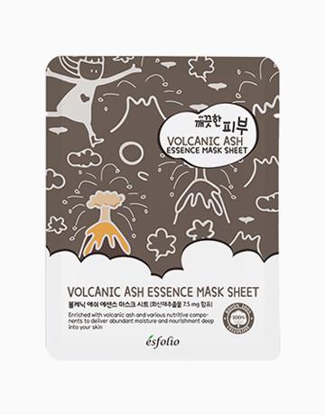Маска тканевая c вулканическим пеплом Esfolio Pure Skin Volcanic Ash Essence Mask Sheet