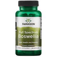 Босвеллия усиленная, Swanson, Boswellia - Double Strength, 800 мг, 60 капсул