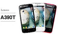 Смартфон Lenovo A390t 2 Sim black ( 2 сим карты, 2 ядра, ОС Android 4 ) + стилус в подарок!