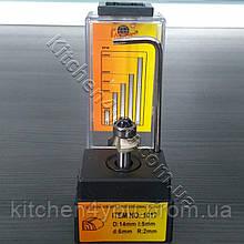 Фреза R2, d6 мм. для обрезки кромки ПВХ и АБС с подшипником