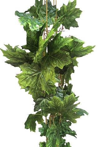 Лиана искусственная клен зеленый., фото 2