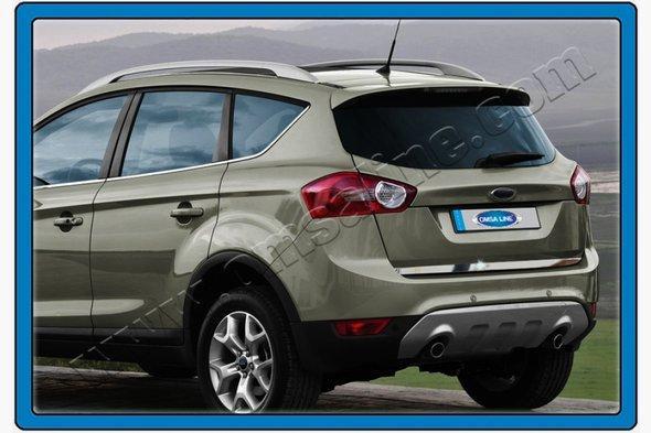 Кромка багажника (нерж) - Ford Courier 2014+ гг.