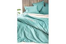 Комплект постельного белья Natural Chique сатин Мята ТМ Идея (Евро), фото 3
