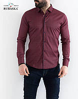 Приталенная мужская рубашка, фото 1