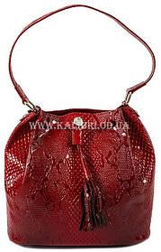 Распродажа! Сумка женская натуральная кожа Karya 0789-019 красный Турция