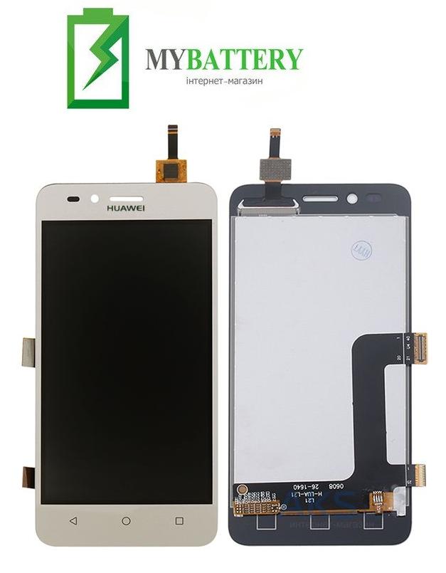 Дисплей (LCD) Huawei Y3 II 2016/LUA-U03/U22/U23/L03/L13/L23 с сенсором золотой (версия 3G)
