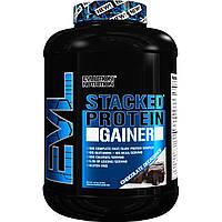 EVLution Nutrition, Stacked, протеиновый гейнер, шоколадный декаданс, 7,23 фунтов (3276 г)
