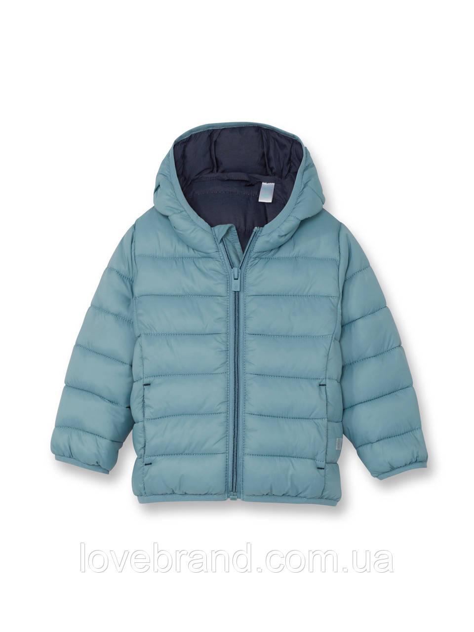 Легкая демисезонная курточка для мальчика OKAIDI (ФРАНЦИЯ) голубая 24 мес/86 см