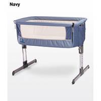 Кроватка Caretero Sleep2gether (navy) (арт.20079)