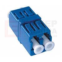 Оптический адаптер, sm, LC duplex
