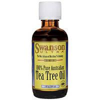 Масло чайного дерева, Swanson, Tea Tree Oil, 59 мл