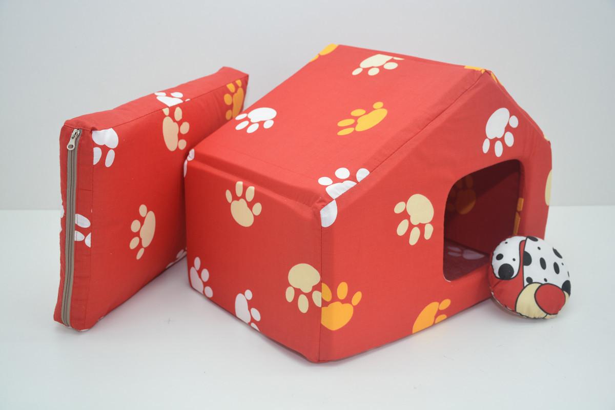 Домик для собак и котов Класик №2 345х490х385