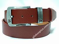 Ремень мужской кожаный Louis Vuitton 40 мм., реплика 930664