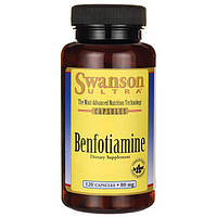 Бенфотиамин, Swanson, Benfotiamine, 80 мг, 120 капсул