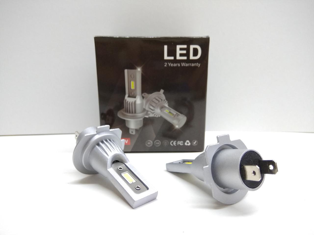 Автолампы LED V10P диод CSP Южная Корея H7 8000Лм 30Вт 12-24В