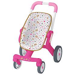 Коляска прогулочная для кукол с поворотными колесами  Smoby Baby Nurse (251223)