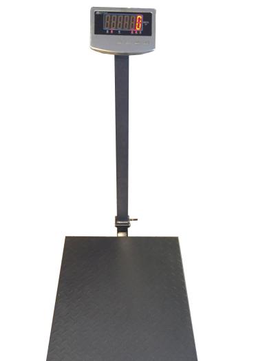 Весы товарные ВПЕ-Центровес-608-600-ДВ-Э (600 кг, 600×800 мм)