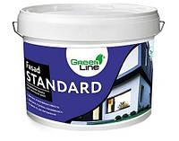 Фасадна акрилова фарба ТМ Green Line FASAD STANDARD 3 л
