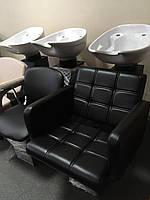 ZD-63 мойка парикмахерская с креслом для мойки Lion без сантехники. Металл, не фанера! В наличии!, фото 1