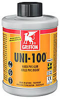 Клей для ПВХ систем Griffon UNI-100 с кисточкой, 250мл