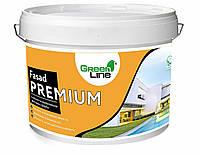 Силікон-модифікована фасадна фарба ТМ Green Line FASAD PREMIUM 3 л
