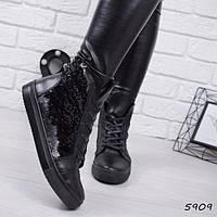 Ботинки женские Henry черные