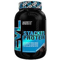 EVLution Nutrition, Комплексный Протеиновый Коктейль, Шоколад Decadence, 2 фунта (888 г)