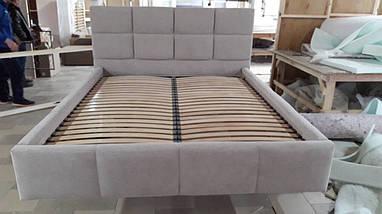 Кровать двуспальная Люкс Техас 2 без матраса с ящиком для белья, фото 3