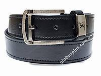Ремень мужской кожаный Louis Vuitton 40 мм., реплика 930670