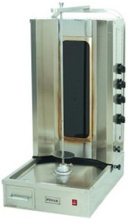 Шаурма электрическая с нижним приводом Pimak М077-4Е , фото 2