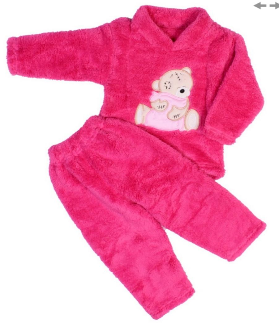 Пижама махра малиновая