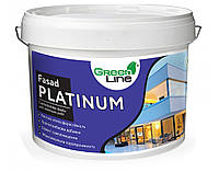 Фасадна силіконова фарба ТМ Green Line FASAD PLATINUM 10 л