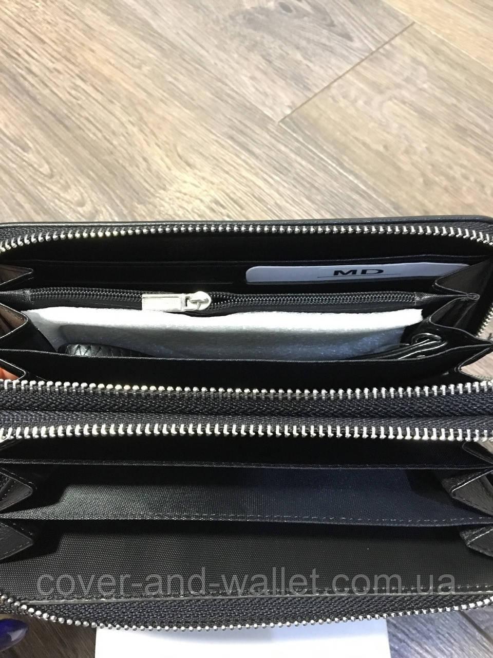 f5f8491882b1 Мужской клатч на две молнии MD COLLECTION черный: продажа, цена в ...