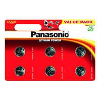 "Батарейка ""PANASONIC"" Lithium BLI CR 2025 (6 шт/уп)"