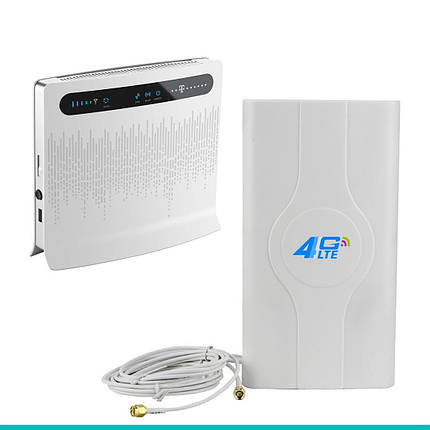 Комплект «LTE Универсальный» (Huawei B593s-12 + Антенна 4G LTE MIMO SMA), фото 2