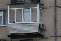 """ремонт балкона в """"сталинке"""""""