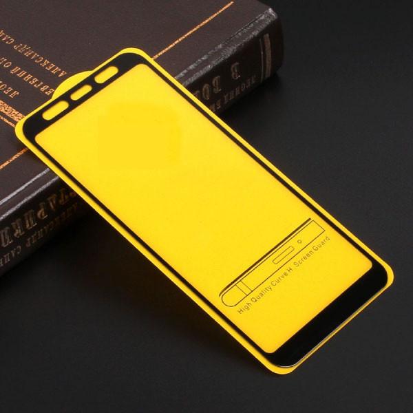 Full Glue защитное стекло для Samsung Galaxy J6 Plus 2018 (J610) - Black
