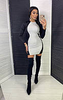 Короткое платье в обтяжку, фото 1