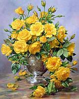 Алмазна мозаїка Улюблені троянди від коханого на подрамнику 30 х 40 см (арт. TN164), фото 1